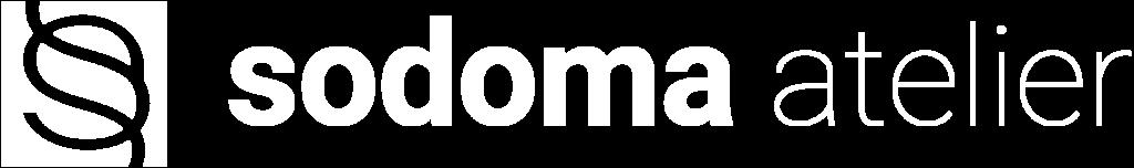 Sodoma Atelier white logo