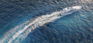 3D yacht visualization at the high seas
