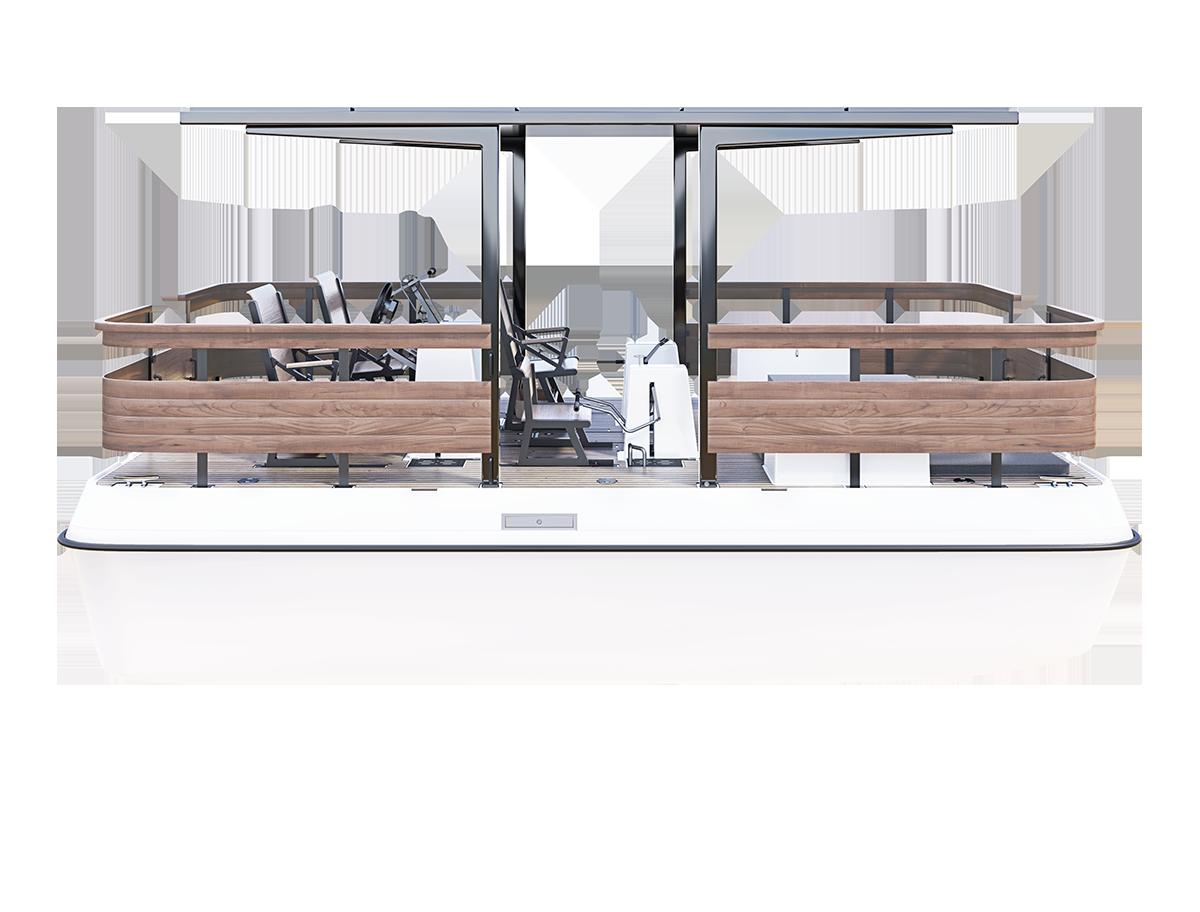 Paddle boat design