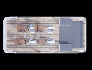 Electric paddle boat design visualization
