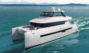 3D Yacht visualization rendering