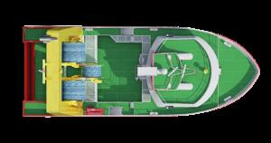 3D ship deck visualization