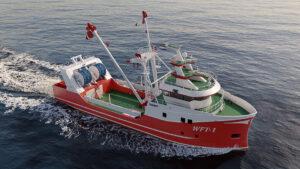 Trawler 3D visualization